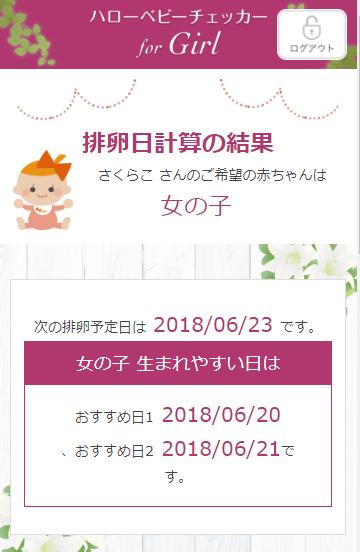 ハローベビーチェッカー女の子編